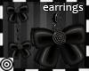 *m Ravenette Bow Earring