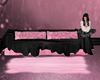 Black/Pink COuch