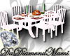 |DDM| Holiday Table WHT