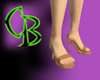 Celeb Orange Heels