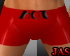 (J)Hot Boxer shorts(Red)