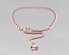 Mauve ZigZag - Necklace