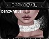 DD|evil Fur Choker