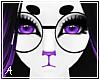 A| Black Round Glasses