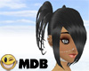 ~MDB~ BLACK TEFANI HAIR