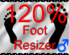 |M| Foot Resizer 120%