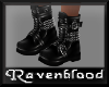 ~RB~ Bovver Boots Black