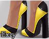 E! Yellow Shoes.