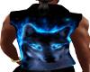 OPEN BLACK WOLF VEST