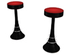 Red Seat Bar Stools