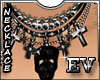 EV Vision Necklace skull