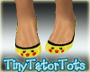 Kids Pikachu Flats Shoes