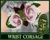 Wrist Corsage Pink