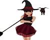 Darkside Lil witch hat