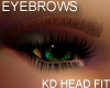 Thick Eyebrows