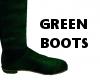 KP green matching boots