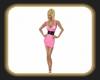 Sarah pink Dress 1