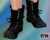Black Spiked Boots fm