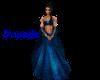 ~R~ Dupatta 4 Blue Saree