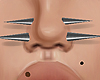 nose spikes