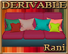 Derivable Medium Couch