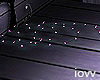 "Iv""Floor Lights violet"