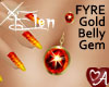 .a Elven Belly Gem FYRE