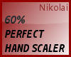 *N* 60% BEST HAND SCALER