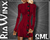 Plum Sweater Dres SML