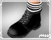 !Work Boots Black