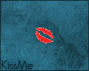 KM|KissMe Badge
