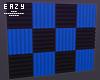 ε Blue acoustic panels