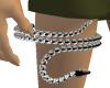 diamant SNAKE garter