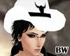 White Black Cowboy Hat