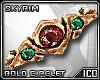 ICO Gold Circlet F