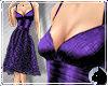 !Satin Lace Vivid Purple