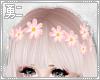 Y' Pink Flower Crown