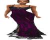 Shimmer Ballgown Purple