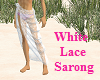 White Lace Sarong
