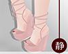 ☁ Sweet Pink Wedges