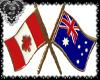 can / Aus flag