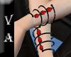 VA Black Red Bracelet R