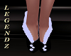 Holiday Boot Heels Black