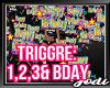 Happy Birthday Trigger