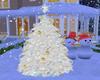 White Xmas Tree Animated