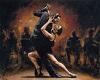 Salsa Dance Art VII