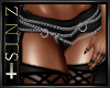 [SIN]- CHAINED SKIRT
