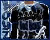[N.Y]BB Camo Fit blu/tee