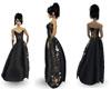 [FCS] Black Silk Gown