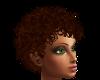 {S} Short Curly Auburn